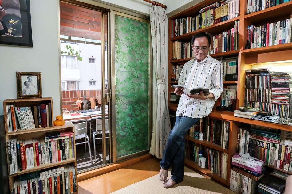 林文義│書房是自己的房間,心靈的自由