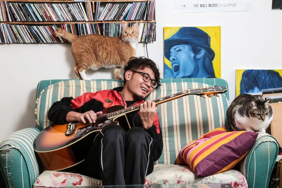 藝人│楊大正與貓咪們的緣分-名人專訪、滅火器樂團