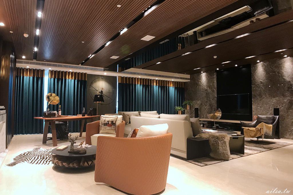 高雄│摩登紐約‧大膽撞色 京城鉅誕實品屋 -森博設計 房地產建案採訪