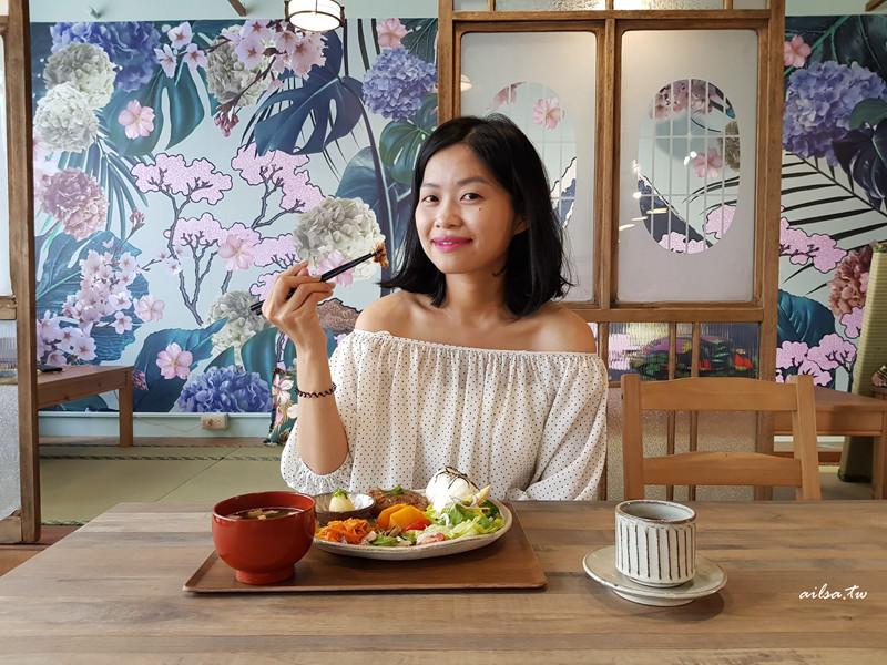 高雄│找。是吉和食珈琲 餐好飲料美空間質感讚的和洋咖啡館-美術館附近